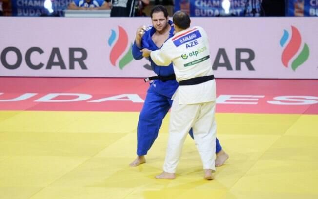 Baby, que já tinha uma prata e um bronze em Mundiais, conquistou a terceira medalha na competição