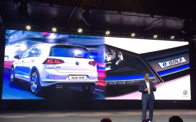 Pablo Di Si, novo presidente da marca no Brasil, anuncia a chegada das variantes híbrida e elétrica do Volkswagen Golf