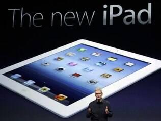 Novo iPad: tela mais nítida é um dos diferenciais