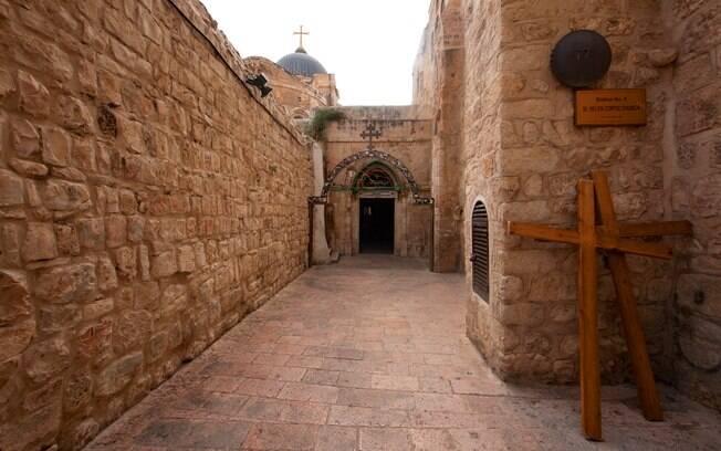 A Via Dolorosa é um destino imperdível na lista de quem quer o que fazer em Israel para se aproximar da história