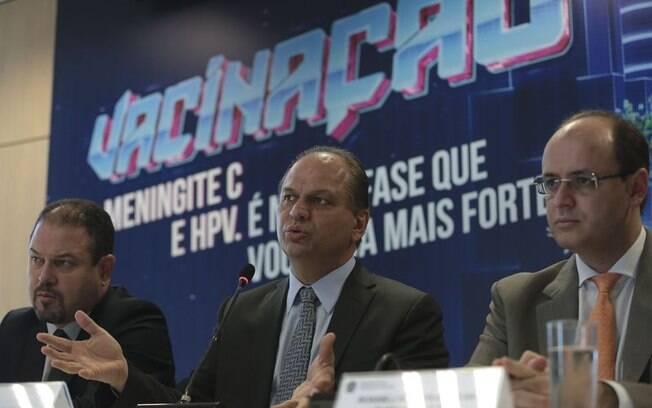Ministro da Saúde, Ricardo Barros, fala sobre  a importância da imunização ao HPV