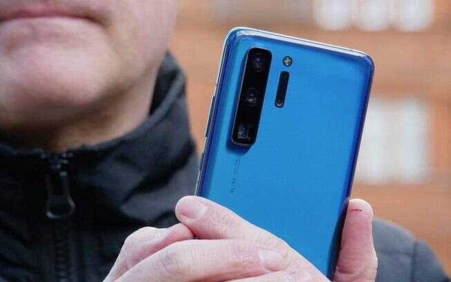 Huawei P40 terá três câmeras