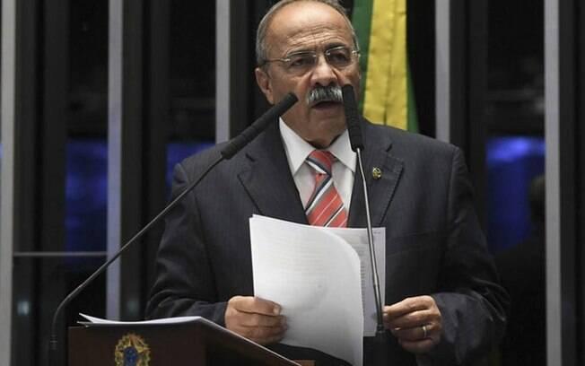 O senador Chico Rodrigues (DEM-RR), vice-líder do governo no Senado