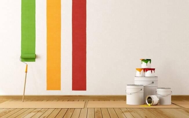 A pintura da casa exige planejamento. É importante conhecer os produtos antes de comprar as tintas