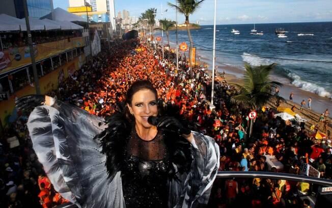 Ivete Sangalo e demais artistas populares animam o carnaval de Salvador