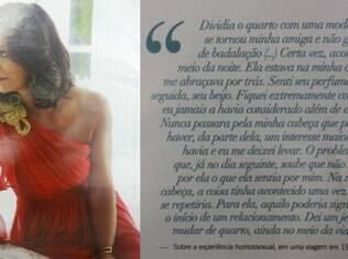 Luiza Brunet fala sobre sua relação lésbica