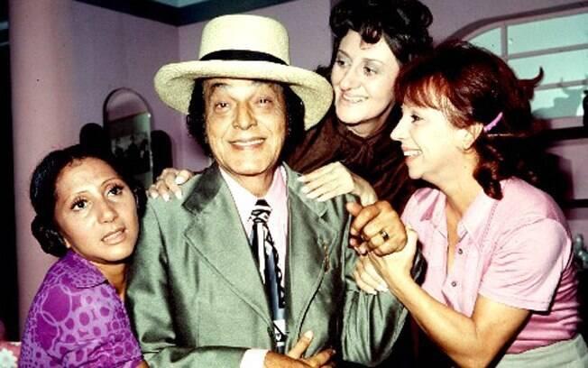 Odorico Paraguaçu (Paulo Gracindo) e as Irmãs Cajazeiras (Dorinha Duval, Ida Gomes e Dirce Migliaccio) em