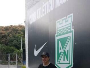 Sherman Cárdenas despediu-se na última terça-feira do Atlético Nacional-COL, clube no qual atuou por dois anos