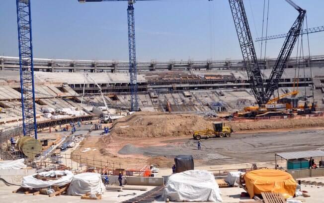 Ainda de acordo com vice-governador do Rio,  Maracanã está com obras adiantadas em 16 dias