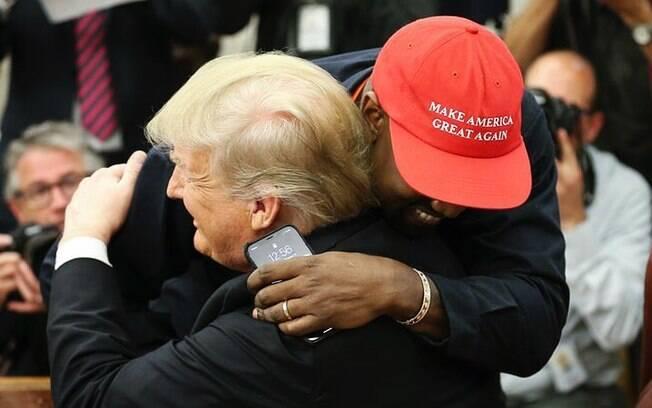 Kanye West e Donald Trump rompem