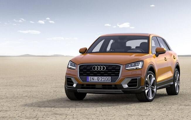 Audi Q2 será reestilizado em 2019, quando deverá chegar ao Brasil como SUV compacto de luxo