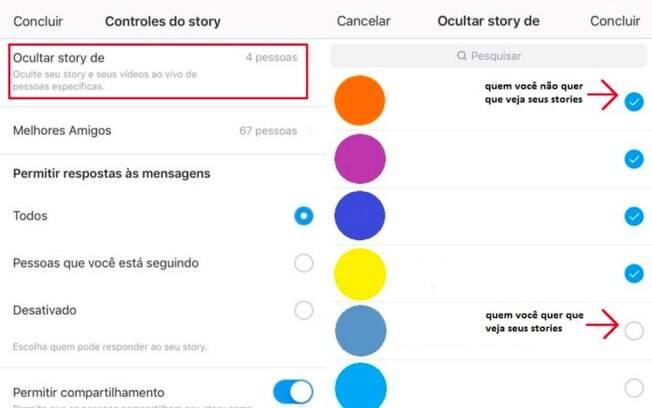 Ocultar stories do Instagram: selecione os seguidores que você não quer que veja suas postagens