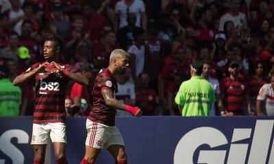 Gabigol e Bruno Henrique tentam se reencontrar para dupla voltar a funcionar