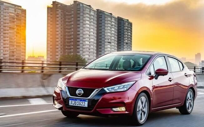 Nissan Versa 2021 chega com visual arrebatador para disputar liderança dos sedãs-compactos