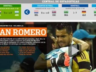 Jornais exaltam vaga à final e goleiro argentino