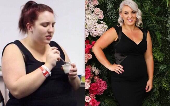 Chloe Cox conseguiu emagrecer após mudar seus hábitos alimentares e se tornar mais ativa