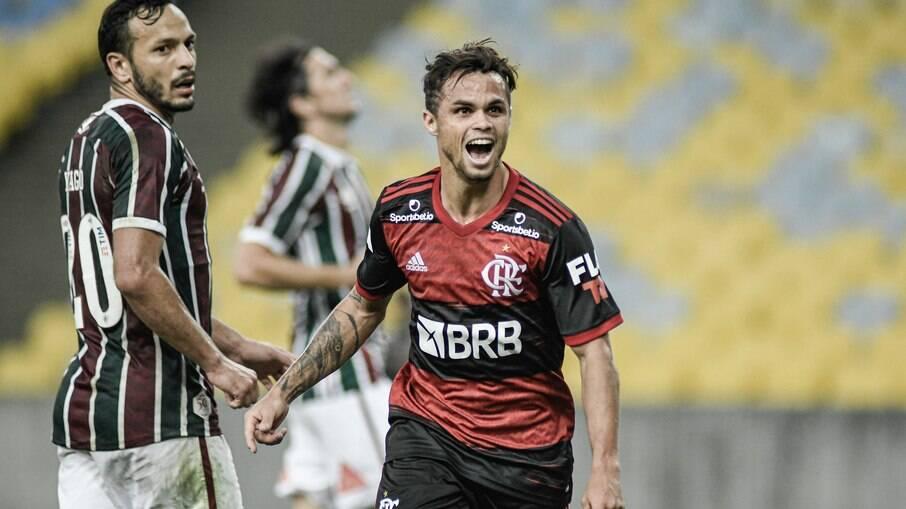 Michael é cotado para sair do Flamengo