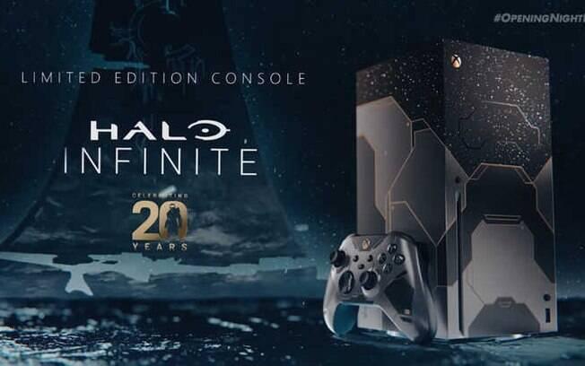 Versão de Halo Infinite do console