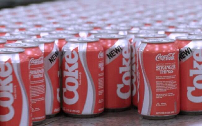 Coca-Cola fará parceria com Netflix para divulgar