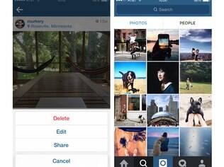 Instagram, a rede social de fotos presente em aparelhos que rodam iOS e Android, agora permite edição das legendas uma busca facilitada por novos usuários