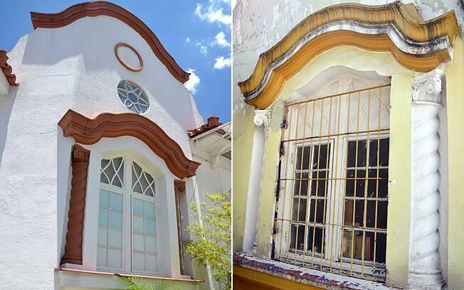 Apesar do estilo arquitetônico idêntico, postos da Aclimação (à esquerda) e da Luz vivem situações opostas