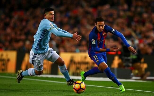 Neymar possui 53% de acerto em 269 dribles feitos