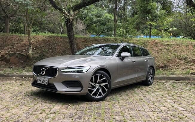 Volvo V60: a marca estima que venderá cerca de 150 unidades em um ano. O volume é baixo para um carro tão legal