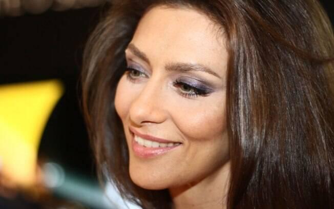 Maria Fernanda Cândido é craque na modalidade de dança, Zouk, mas ficou nervosa ao dançar como Odalisca em