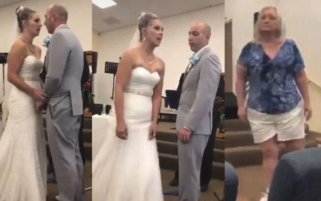Sogra interrompeu o casamento
