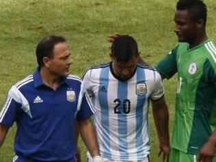 Atacante se machucou na vitória sobre a Nigéria por 3 a 2, em Porto Alegre