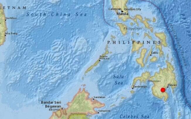 Pelo menos quatro pessoas morreram após forte terremoto