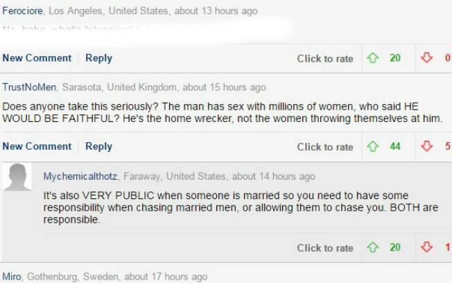 A reportagem do 'Daily Mail' causou indignação, inclusive, em internautas do próprio jornal