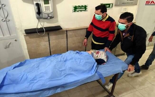 107 pessoas precisaram de atendimento médico após ataque químico na Síria