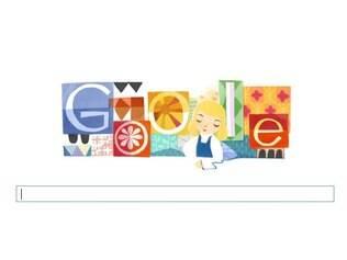 Mary Blair recebe homenagem do Google