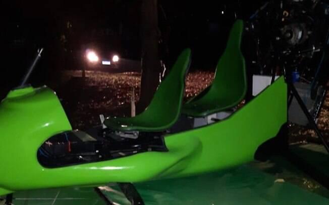 Piloto de 45 anos fica ferido após queda de ultraleve em Americana