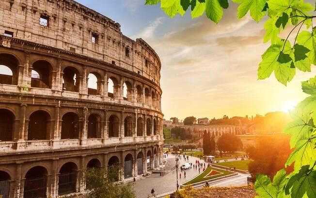 Roma tem uma série de passeios românticos