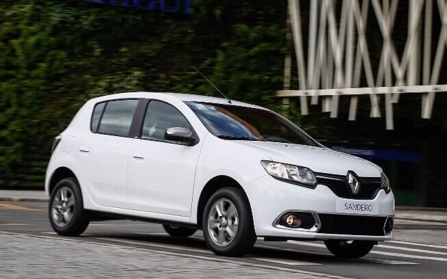 Renault Sandero mantém o mesmo visual há três anos e deverá receber retoques apenas a partir do ano que vem