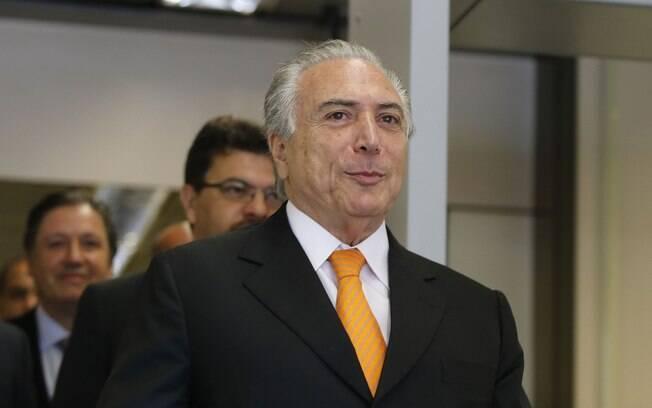 Michel Temer ficará na mesma condição da presidente Dilma Rousseff