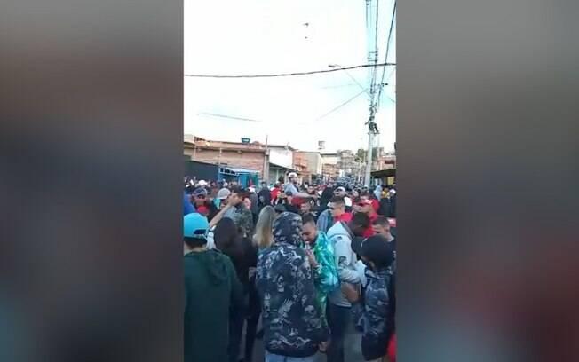 Fim de semana tem registro de festas e pancadões na região