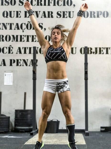 Fernanda Surian é atleta de crossfit