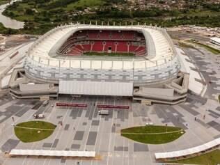 Ao redor da Arena Pernambuco foi erguido um bairro chamado de Cidade da Copa com 250 hectares