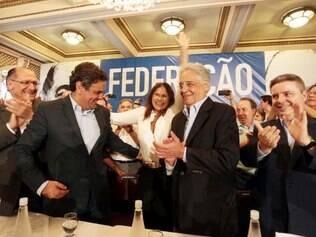 Geraldo Alckmin, Aécio Neves, Fernando Henrique Cardoso e Antonio Anastasia