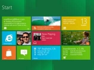Interface Metro é evolução do menu Iniciar e barra de tarefas do Windows, diz Microsoft