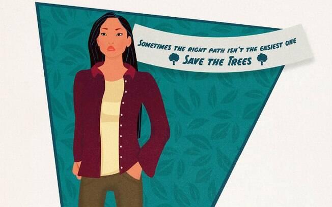 Sua origem indígena não permitia que Pocahontas fosse qualquer outra coisa além de uma líder de proteção ambiental