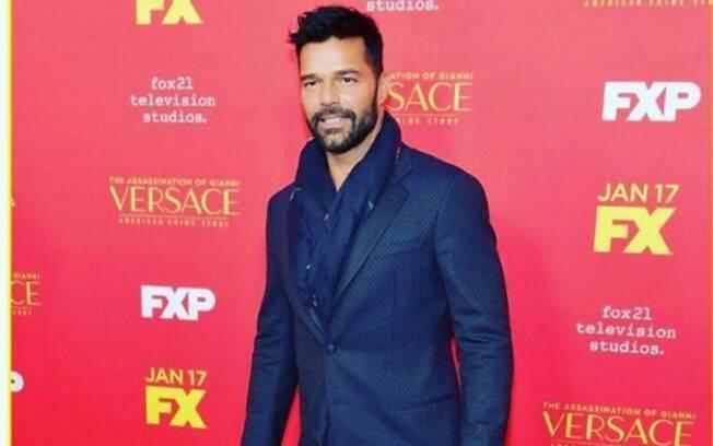 Ricky Martin interpreta Antonio D'Amico, companheiro do estilista  Gianni Versac