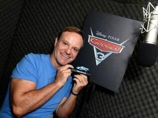 Rubens Barrichello vai integrar o time de dubladores de