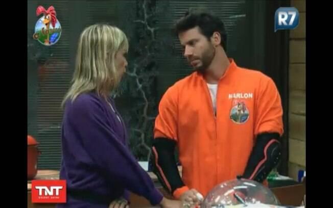 Vestido para o Desafio Semanal, Marlon conversa com Anna