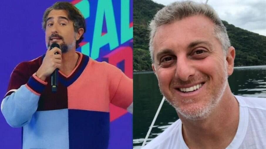 Marcos Mion manda mensagem de agradecimento a Luciano Huck: 'Honra e benção'