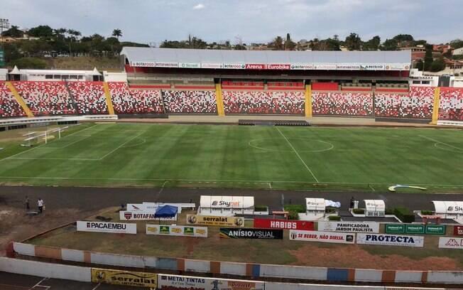 Estádio Santa Cruz, em Ribeirão Preto