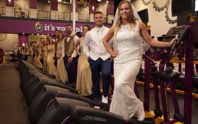 Noiva chegou a procurar outros lugares para a cerimônia, mas não conseguia imaginar seu casamento em outro local